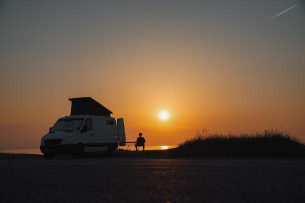 Vanlife Sunset